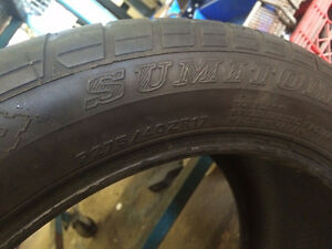 Sumitomo P275/40ZR17 - 1 Tire Only Kitchener / Waterloo Kitchener Area image 2