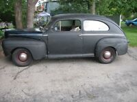 1946 FORD IN STORAGE BUT AVAILABLE FOR INSPECTION