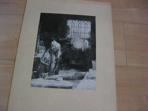 Print of etching and prints from Rembrandt Kitchener / Waterloo Kitchener Area image 2