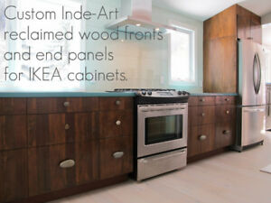 Custom Solid Wood Doors for IKEA Kitchen & Bath Cabinets