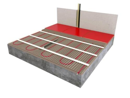 Vloerverwarming Badkamer Elektrisch : ≥ elektrisch vloerverwarming pakket badkamer en tegelvloer