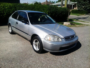 1996 Honda Civic LOW KMS Hatchback
