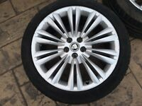 Jaguar XF / XK alloys