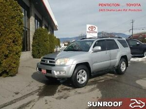 2005 Toyota 4Runner Limited   -  SUNROOF