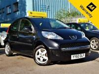 2010 PEUGEOT 107 1.0 ALLURE 68 BHP! P/X WELCOOME! NEW CLUTCH+£20 TAX+LEATHER+5DR