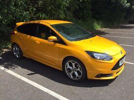 2013 Ford Focus ST Tangerine Scream Excellent Condition 63-Plate 41000 Miles