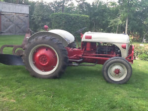 1952 Ford 8N tractor and plow Kawartha Lakes Peterborough Area image 3