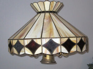 Stained Glass Dining Room Fixture - Hand Crafted Kitchener / Waterloo Kitchener Area image 1