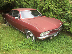 1965 corvair for parts or restoration (sold pending pick up)