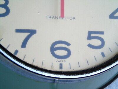 RARE SEIKO TRANSISTOR SHIPS MARINE QUARTZ WALL CLOCK SEIKOSHA JAPAN DECK WATCH