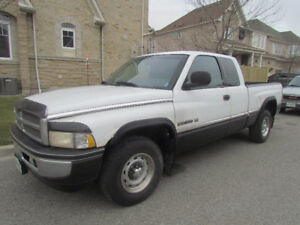 1998 Dodge Power Ram 1500 ext cab Pickup Truck