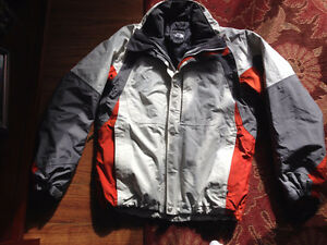 North Face 3 in 1 winter jacket
