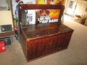 Wood Bench-Trunk For Sale