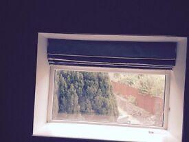 Roman blinds x 2