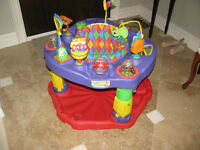 Evenflo Deluxe Exersaucer with electronic components