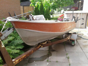 12' Aluminum Fishing Boat For Sale