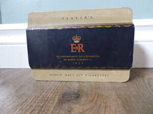 Player's Cigarette Tin to commemorate Queen's Coronation 1953 Kitchener / Waterloo Kitchener Area image 5