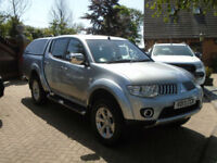 2013 Mitsubishi L200 2.5DI-D CR 4WD LB Double Cab Pickup Warrior NO VAT