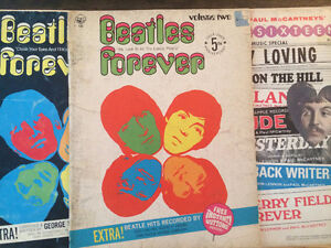 Partitions des Beatles - Vintage!