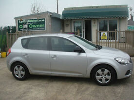 Kia ceed 1.6TD ( 89bhp ) 2011MY 1 GUARANTEED CAR FINANCE TODAY