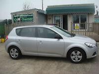 Kia ceed 1.6TD ( 89bhp ) 2011MY 1 GUARANTEED CAR FINANCE TODAY