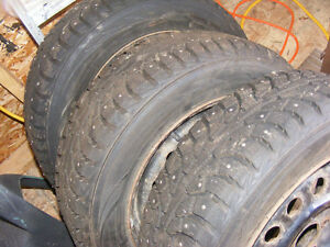 4 studded winter i-Pike tires REDUCED