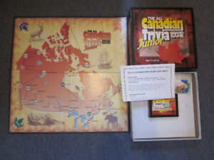 The All Canadian Trivia Board Game - Junior