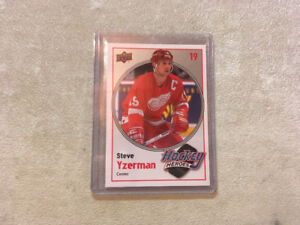 2010-11 upper deck Hockey Heroes Steve Yzerman #HH4