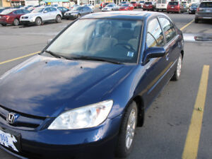 2005 Honda Civic LX-G Sedan - Standard Transmission