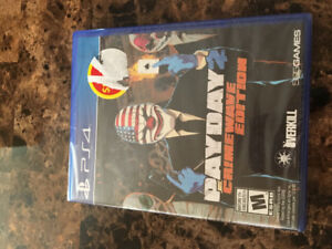 Payday crimewave edition unopened fully sealed PS4