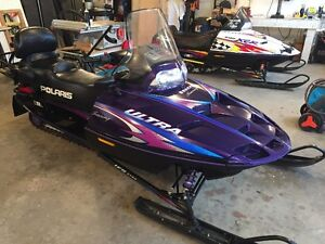 1998 Polaris 670 Ultra Touring Sled and XCR600