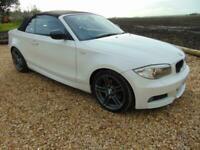 2013 BMW 120 2.0TD d Sport Plus Edition white/ black leather diesel manual