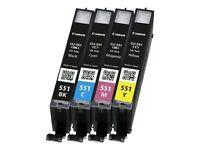 Canon Pixma CLI-551c Multipack Cartridges