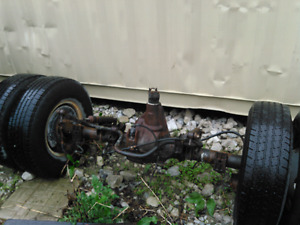 Ford F 450 rear axle assembly