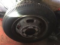 Iveco daily spare wheel new tyre 195/65/r16 £50