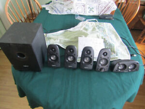 suround sound system and suction handles for sale