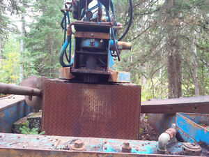 Line Truck - Auger System and Pole Setter Williams Lake Cariboo Area image 5