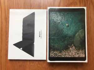 BNIB Apple Keyboard Case& iPad Pro 10.5 SPACE GREY 64GB WiFi+LTE