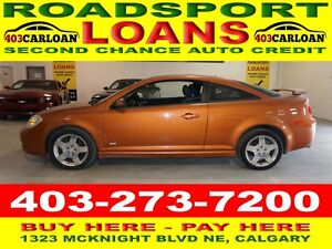 2007 Chevrolet Cobalt SS ON AISH? $500 DOWN APPROVED APPLY NOW