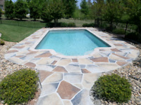 Jewelstone decorative concrete resurfacing and repairs