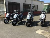 15 Kymco Agility 49cc Moped/Scooter Choice of 4 Direct COUNCIL LOW MILES fr £595