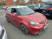 2017 17 MG MG3 1.5 VTI TECH 3STYLE LUX.GREAT COLOUR.2 OWNERS.FULL SH.2KEYS.VALUE