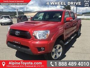 2012 Toyota Tacoma 4WD DBL CAB V6 AU   4x4, tow package, iron cr