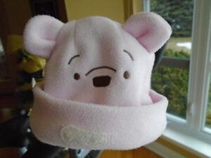 chapeau/ tuque  winnie le Pooh pour enfant  9 mois rose