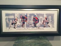 Limited Edition Mark Messier Canvas Print