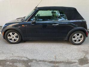 2005 Mini Convertible in Midnight Black