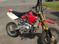 Motocross Nordik motor 110cc à vendre pour 900$ négociable