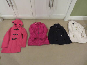 Gorgeous size 8 - 10 Girls fall/winter coats