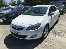 10 REG Vauxhall Astra 1.4i 16v Turbo ( 140ps ) SRi IN WHITE