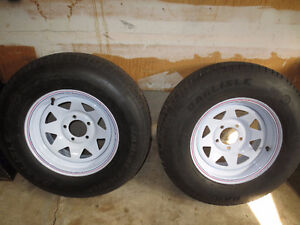 New Trailer Tires and Rims